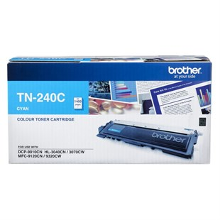 Brother TN-240C Orjinal Mavi Toner MFC-9120-9320 - HL3040-3070 (1.400k)