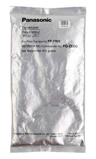 Panasonic ZE-60 Orjinal Developer (FP-7160-7760-7781)