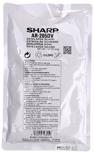 Sharp AR-205 Orjinal Developer AR5516-5520 MX-M160D/M200D